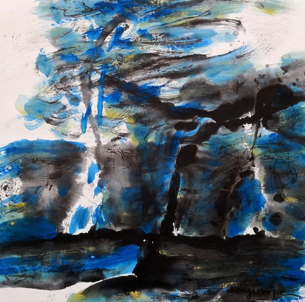 Spring-in-Central-Park-No2-2015-27x26-ink-acrylic 7000.jpg